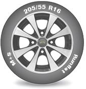 Подбор шин по типоразмеру и характеристикам