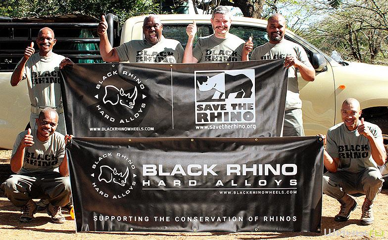 Black Rhino Wheels помогает спасти редких животных от вымирания
