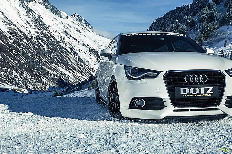 Колесные диски Dotz на автомобиле Audi