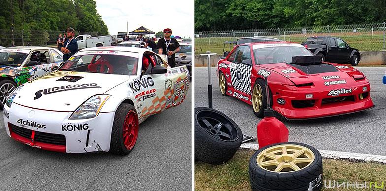 Колесные диски Konig в автоспорте