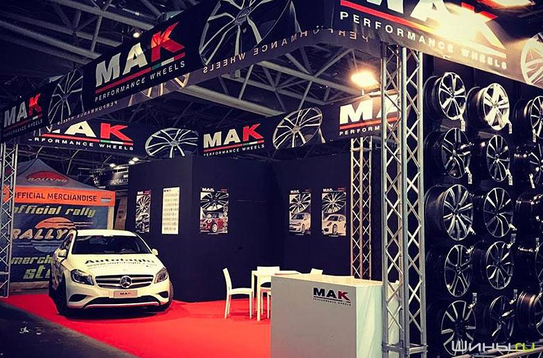 Компания MAK на Torino Expotuning 2017