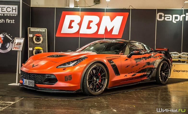 Диски OZ Racing на Corvette C7