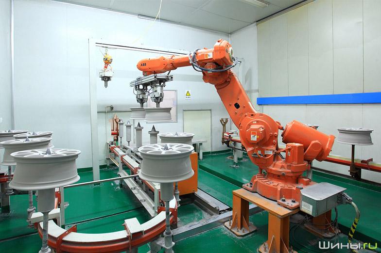 Завод по производству дисков Alcasta