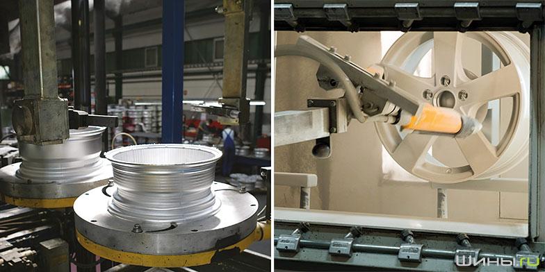 Завод по производству дисков Dezent