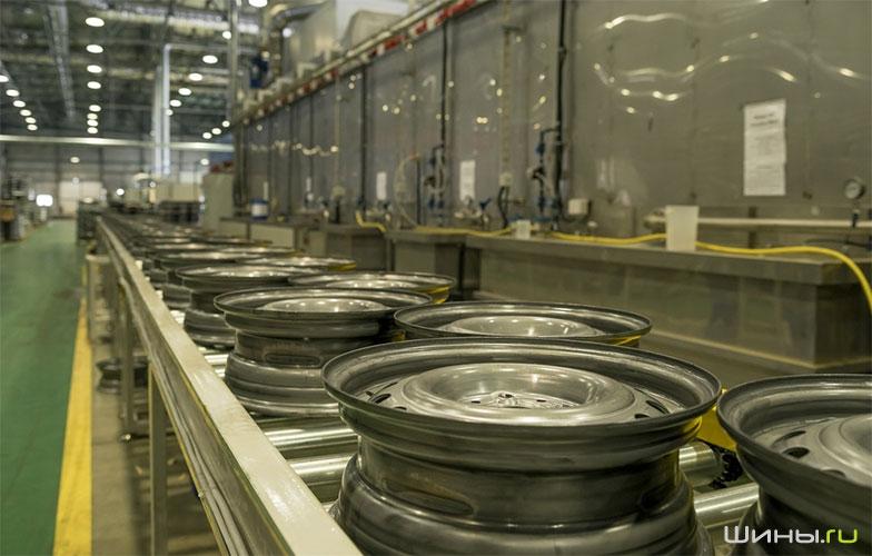 Производство дисков Trebl