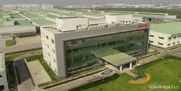 Завод Maxxis в Индии