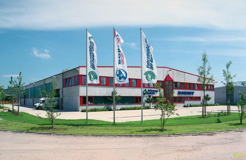 Завод по производству дисков Borbet