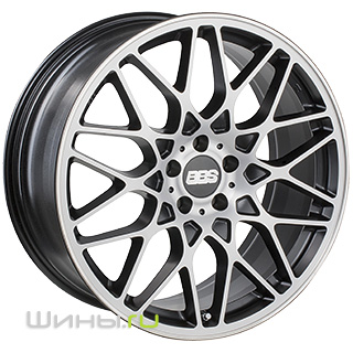 BBS RX (Satin Black Diamond)