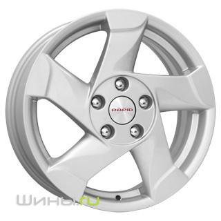 Диск K&K Nissan Juke КСr673 7xR17 5x114.3 мм ET47 Сильвер 63564