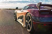 Michelin Pilot Sport Cup 2 на автомобиле Koenigsegg Agera RS