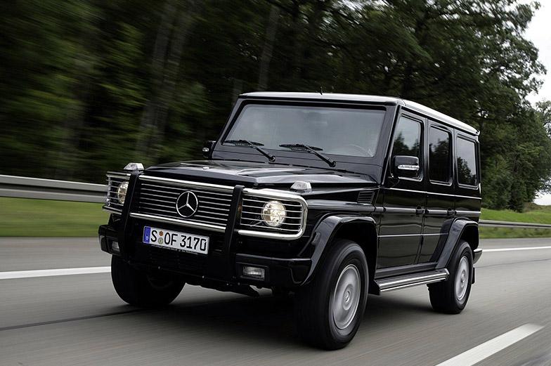Шины для Mercedes-Benz G-Class