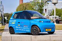 Первый в мире биоразлагаемый автомобиль
