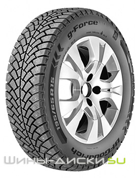 195/65 R15 BFGoodrich G-force stud
