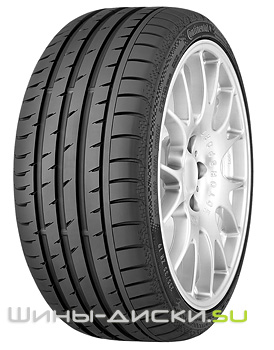 245/45 R19 Continental SportContact 3