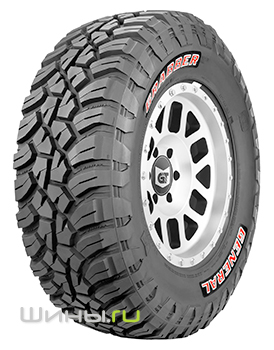285/75 R16 General Tire Grabber X3